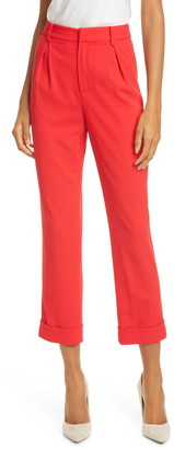 Alice + Olivia Ardell High Waist Crop Pants