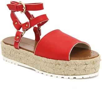 Etienne Aigner Winona Ankle Strap Platform Sandal