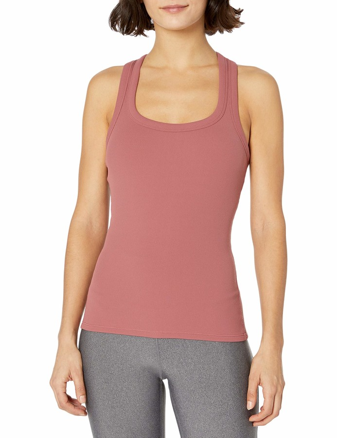 Alo Yoga Women's Rib Support Tank Sports Bra