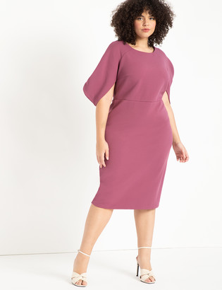 ELOQUII Textured Knit Dress