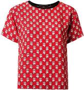 Reinaldo Lourenço - all-over print blouse - women - Silk - 46