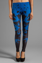 McQ by Alexander McQueen Printed Swallow Legging