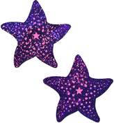 Starfish: Twinkling & Pink Print Sea Star Nipple Pasties by Pastease® o/s