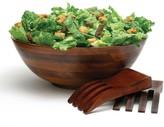 Lipper 3-pc. Cherry Acacia Wood Salad Bowl & Server Set