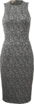 Michael Kors Metallic Jacquard Sheath Dress