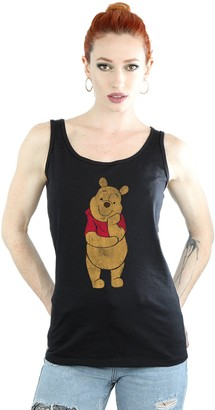 Disney Women's Winnie The Pooh Classic Pooh Vest Medium Black