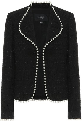 Giambattista Valli Tweed cotton-blend jacket