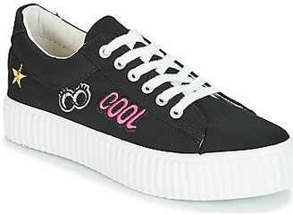 Coolway COOL women's Shoes (Trainers) in Black