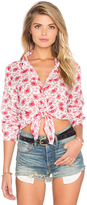 Cp Shades Romy Button Up Top