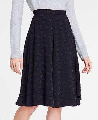 Tall Clip Dot Chiffon Full Skirt