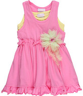 Cachcach kids - Neons- Ruffled Dress