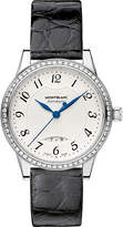Montblanc 111057 Boheme stainless steel diamond watch