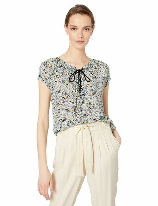 Chaps Women's Floral Jersey Top
