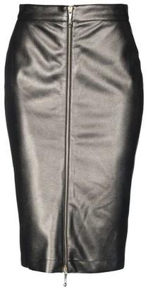 Just Cavalli Knee length skirt