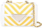 Sara Battaglia Elizabeth shoulder bag - women - Silk/Bos Taurus - One Size