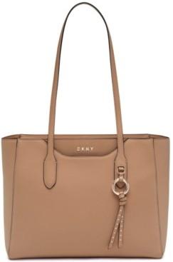 DKNY Leather Lola Tote