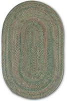 Colonial Mills Greenbrier Reversible Braided Wool Oval Runner Rug