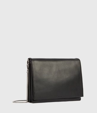 AllSaints Culford Leather Shoulder Bag