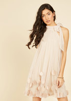 All Neutral Shift Dress in M