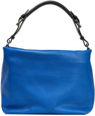 Marni Maxi Strap Pebbled-leather Shoulder Bag