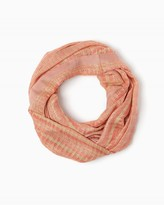 Charming charlie Vacation Stripes Infinity Scarf