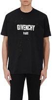 Givenchy Men's Destroyed Logo T-Shirt