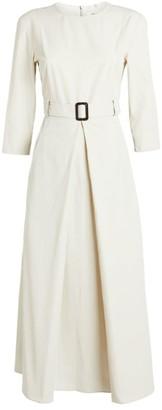Max Mara Belted Urbino Dress