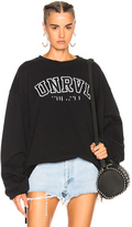 Unravel Panel Sweatshirt in Black.