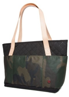 Token Quilted and Waxed Clinton Small Tote Bag