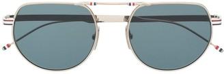 Thom Browne Aviator Shaped Sunglasses