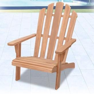 Adirondack Brenner Teak Chair Highland Dunes