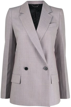 Givenchy Micro-Check Wool Blazer