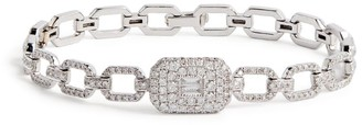 Shay White Gold and Diamond New Modern Bracelet