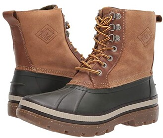 Sperry Ice Bay Boot (Olive/Tan) Men's Boots