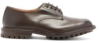 Tricker's Daniel Trek-sole Leather Derby Shoes - Brown