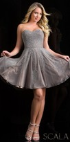 Scala Sparkling Sweetheart Fit and Flare Party Dress