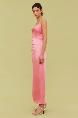 C/Meo BLINDFOLD GOWN pink