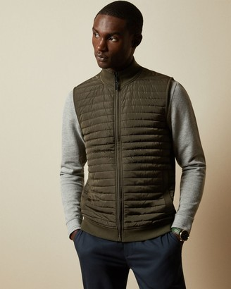 Ted Baker Quilted Jersey Gilet