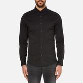 Michael Kors Slim Long Sleeve Shirt Black