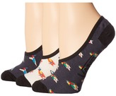 Vans Bird Up Canoodles 3-Pack Women's Crew Cut Socks Shoes