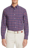 Vineyard Vines Poinsettia Plaid Performance Murray Slim Fit Button-Down Shirt