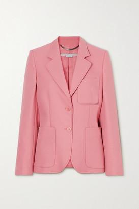 Stella McCartney Net Sustain Eleanor Twill Blazer - Pink