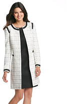 Tahari by Arthur S. Levine Tahari ASL Boucle Plaid Jacket