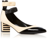 Pierre Hardy Siouxsie Patent Leather Pumps