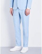 Hardy Amies Bleached Heddon-fit Denim Trousers