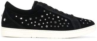 Jimmy Choo Cash embellished sneakers