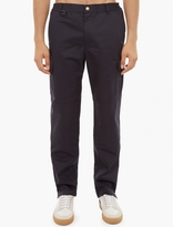 A.P.C. Navy Cotton Garden Trousers
