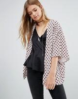 Goldie Crowded Heart Kimono Jacket