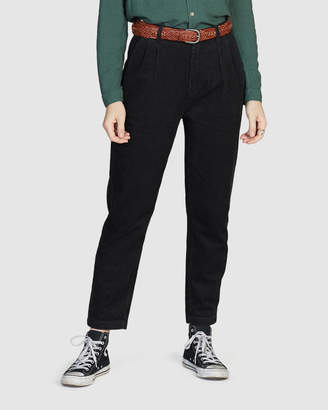 Quiksilver Womens Pleated Cord Pants