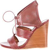 Derek Lam Perforated Leather Sandals